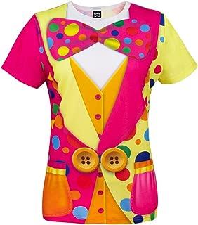 Women's Clown Costume T-Shirts