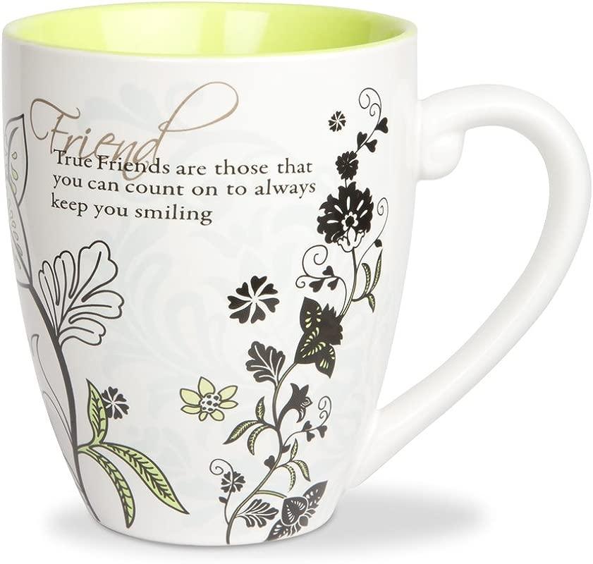 Mark My Words Friends Mug 4 3 4 Inch 20 Ounce Capacity