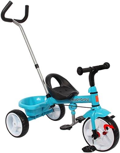 precio al por mayor QXMEI - Pedal para para para Niños de 2 a 3 a 5 años de Edad, Ligero, para bebé, Cochecito de bebé, Triciclo Infantil  más descuento