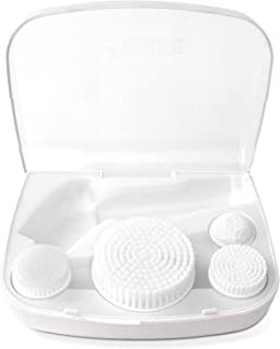 ToiletTree Products Storage Travel Case for Water-Resistant Skin Care Face Body Brush System