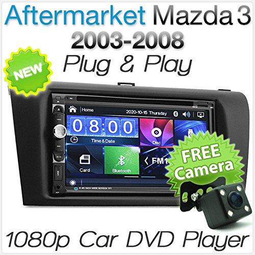 TUNEZ® Lecteur DVD CD de voiture 7\