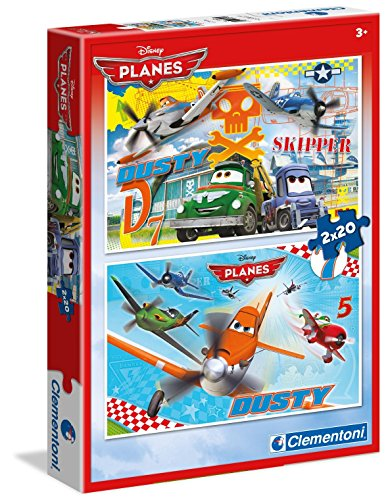 Clementoni 2 X 20 Piezas Disney Planes
