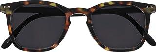OPULIZE - Opulize Bex Grande Hombres Estilo Diseñador Carey Marrón Mate Negro Armas Lectores De Sol Gafas De Lectura UV400 S64-2 +1,50