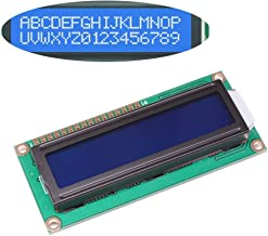 Solu ® 3.3v LCD Module for Arduino UNO R3 Mega2560 16 X 2, 1602 White on Blue //3.3v LCD Module 1602, White on Blue with Backlight//3.3v 1602a 16 X 2 Lines White Character LCD Module with Chartreuse Blue Backlight (Dc 3.3v)