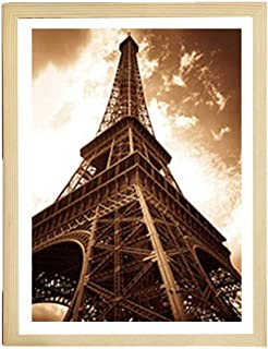 Home,Garden,Home Decor,Handmade Diy Wooden Puzzle Frame Picture Frame Poster Frame Home Decoration Jigsaw Photo Frame 13*18cm 6 Inch White
