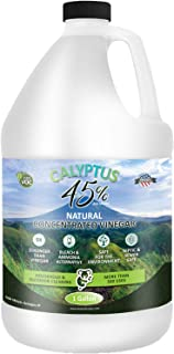 Calyptus 45% Pure Super Concentrated Vinegar | 9x Stronger than Cleaning Vinegar | Plant Based | Home and O...