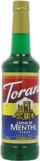 Torani Syrup, Creme De Menthe, 25.4-Ounce PET Bottles (Pack of 3)