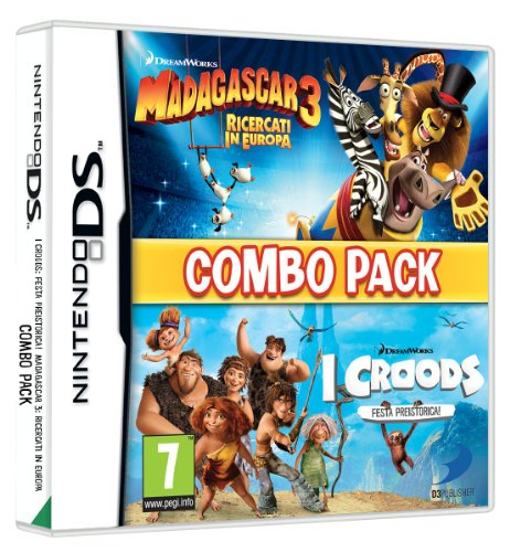Madagascar 3 & The Croods Prehistoric Party: Combo Pack