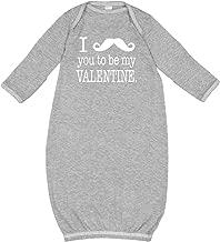 inktastic I Mustache You to Be My Valentine Newborn Layette