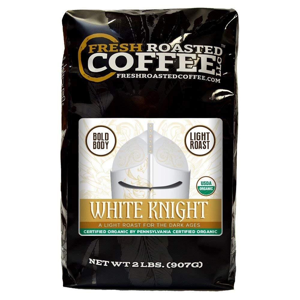 White Knight Light Roast Coffee Beans