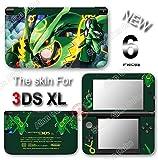 Pokemon Emerald Rayquaza Delta Skin Sticker Cover for Original Nintendo 3DS XL