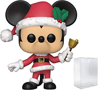Funko Disney: Holidays - Holiday Mickey Mouse Pop! Vinyl Figure (Includes Compatible Pop Box Protector Case)