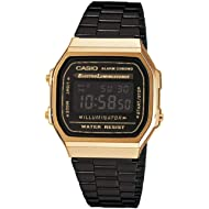 Casio Collection Unisex Adults Watch A168WEGB-1BEF