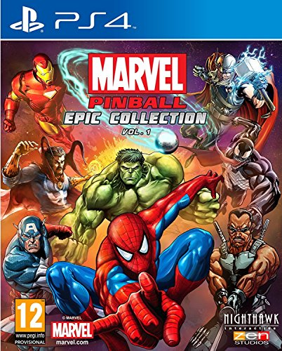 Marvel Pinball (PS4) (New)