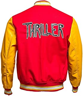 Best michael jackson thriller jacket m logo varsity jacket Reviews
