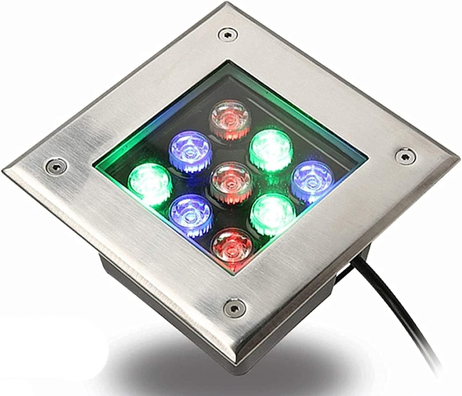 MWKLW Max 69% OFF RGB LED Max 89% OFF in ground 9W IP67 Well Waterpro Lights