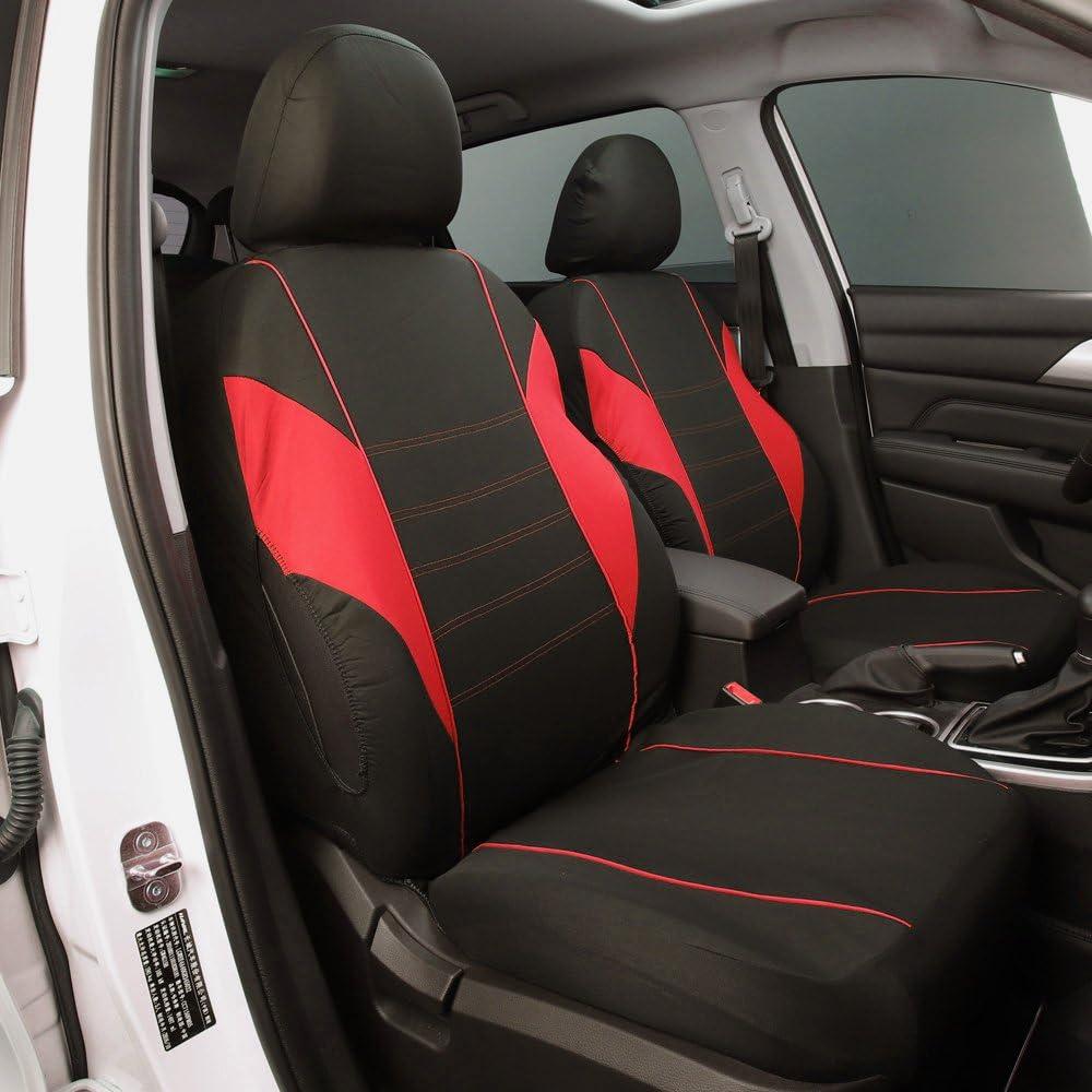 Han Sui Song Autositzbezug Set 9 Stück Autositze Protector Interior Zubehör Für Rapid Fabia Tourneo Courier Ecosport Focus Mondeo Auto
