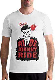 The Misfits Ride Johnny Ride Men's Motion T Shirt Athletic