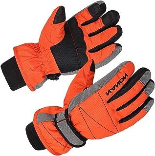 Kids Ski Snow Gloves Snowboard Winter Warm Cold Weather...
