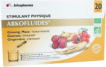 Arkopharma Arkofluides Physical Stimulating 20 Phials Estimated Price : £ 35,89