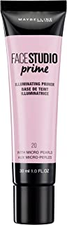 Maybelline New York Master Prime Foundation Primer - 30 ml, Illuminating Primer 20