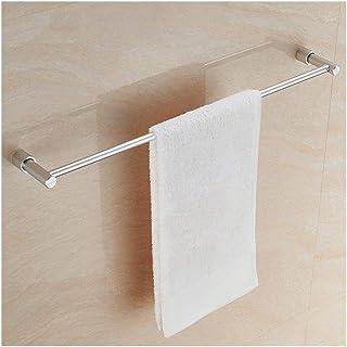 Étagère d'angle Douche 11,8~31Inch Salle de bain Towel Bar Espace de rangement en aluminium Organisateur Hanger Support mu...
