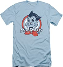 Astro Boy Target Slim Fit Unisex Adult T Shirt for Men and Women