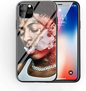 for iPhone 11 Pro Max Tempered Glass Phone Case A-57 Hip hop Youngboy Never Broke Again Soft Silicone TPU Cover