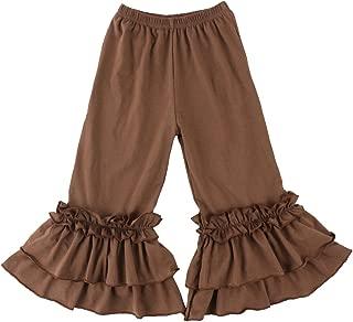 Best brown ruffle pants Reviews
