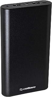 モバイルバッテリー Cellevo 大容量 Cute ME 24000mAh ブラック PSEマーク取得 高品質リチウムポリマー アルミボディ iPhone Android 急速充電 ME24000SB-BK