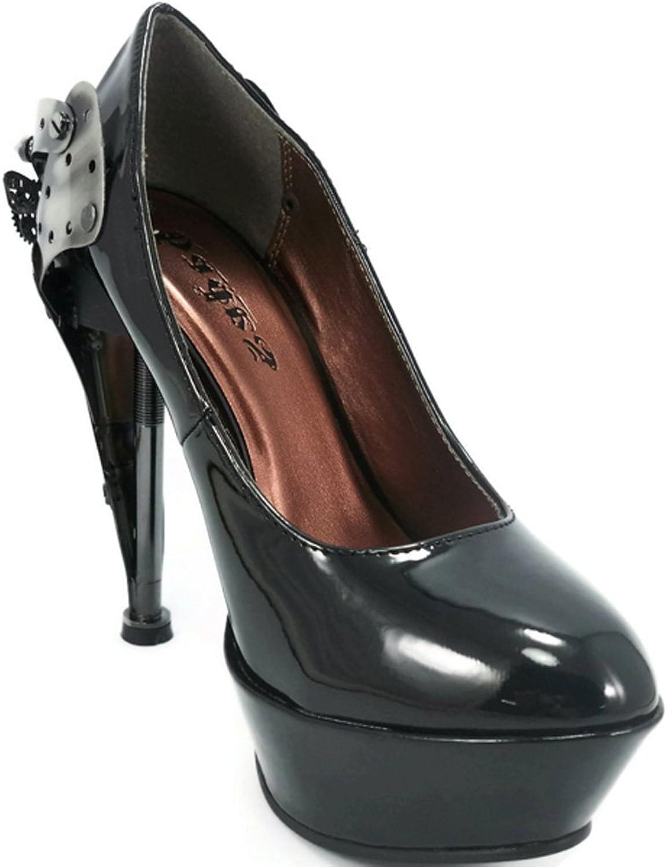 HADES skor skor skor - Eifels Plattformar skor svarta  bästa valet