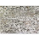murando - Fototapete selbstklebend 490x280 cm Tapete Wandtapete Wandbilder Klebefolie Dekofolie Tapetenfolie Wand Dekoration Wohnzimmer - Textur Ziegel Mauer Beton f-A-0457-a-a