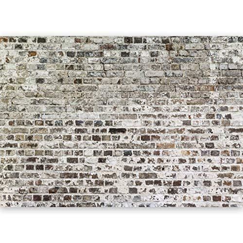 murando - Fototapete XXL Ziegeloptik 500x280 cm Vlies Tapeten Wandtapete XXL Moderne Wanddeko Design Wand Dekoration Wohnzimmer Schlafzimmer Büro Flur Textur Mauer Beton f-A-0457-a-a