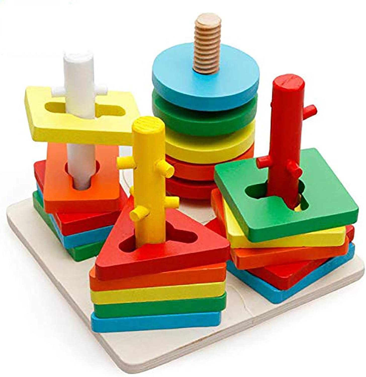 Globe Shapes Wooden Geometric Original Resources Learning