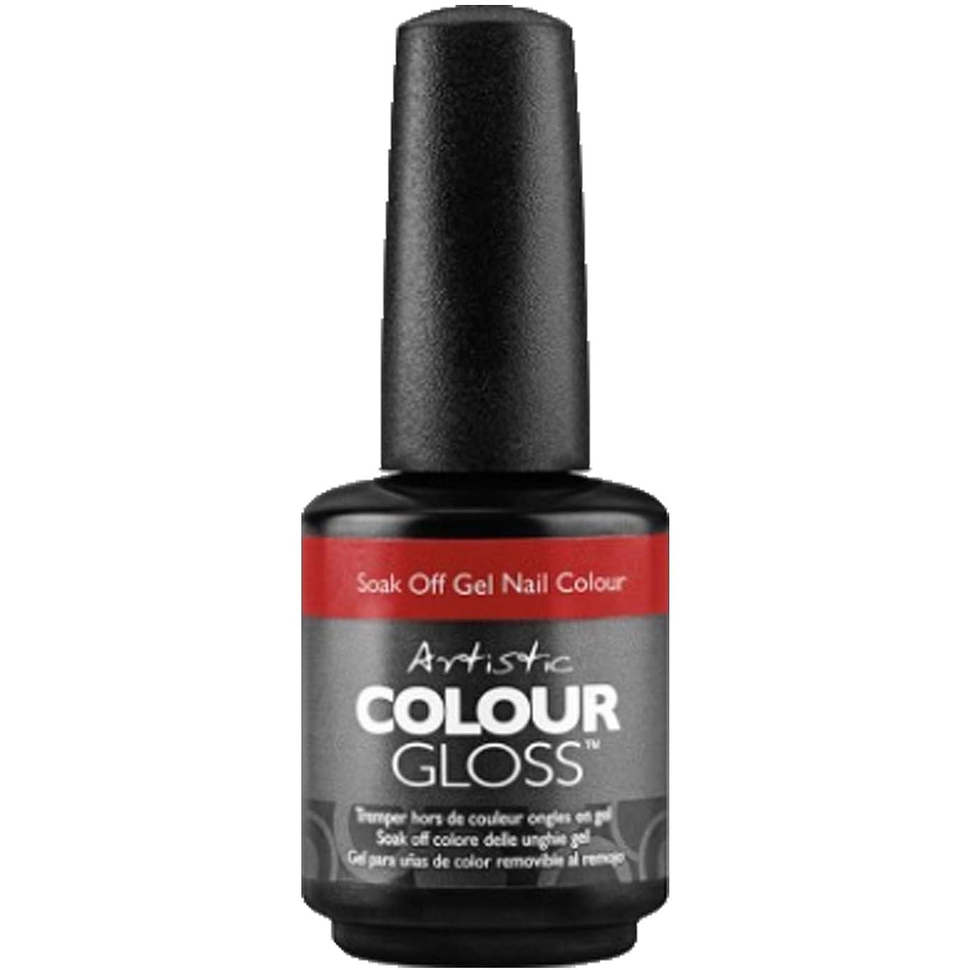 すみません中に爬虫類Artistic Colour Gloss - Social Diva - 0.5oz / 15ml
