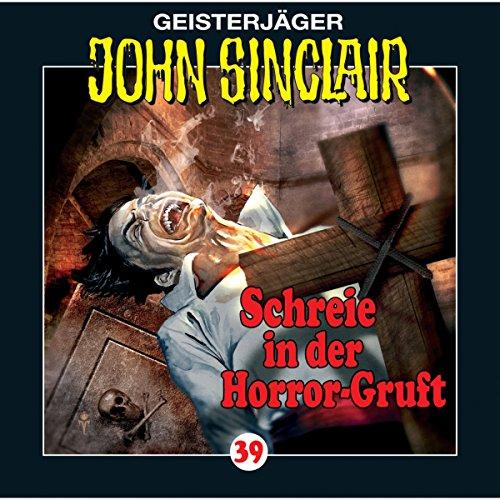 Schreie in der Horror-Gruft audiobook cover art