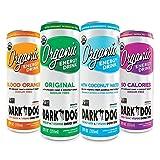 Dark Dog Organic Energy Drink, Variety Pack, 12 Fl Oz (Pack of 12)