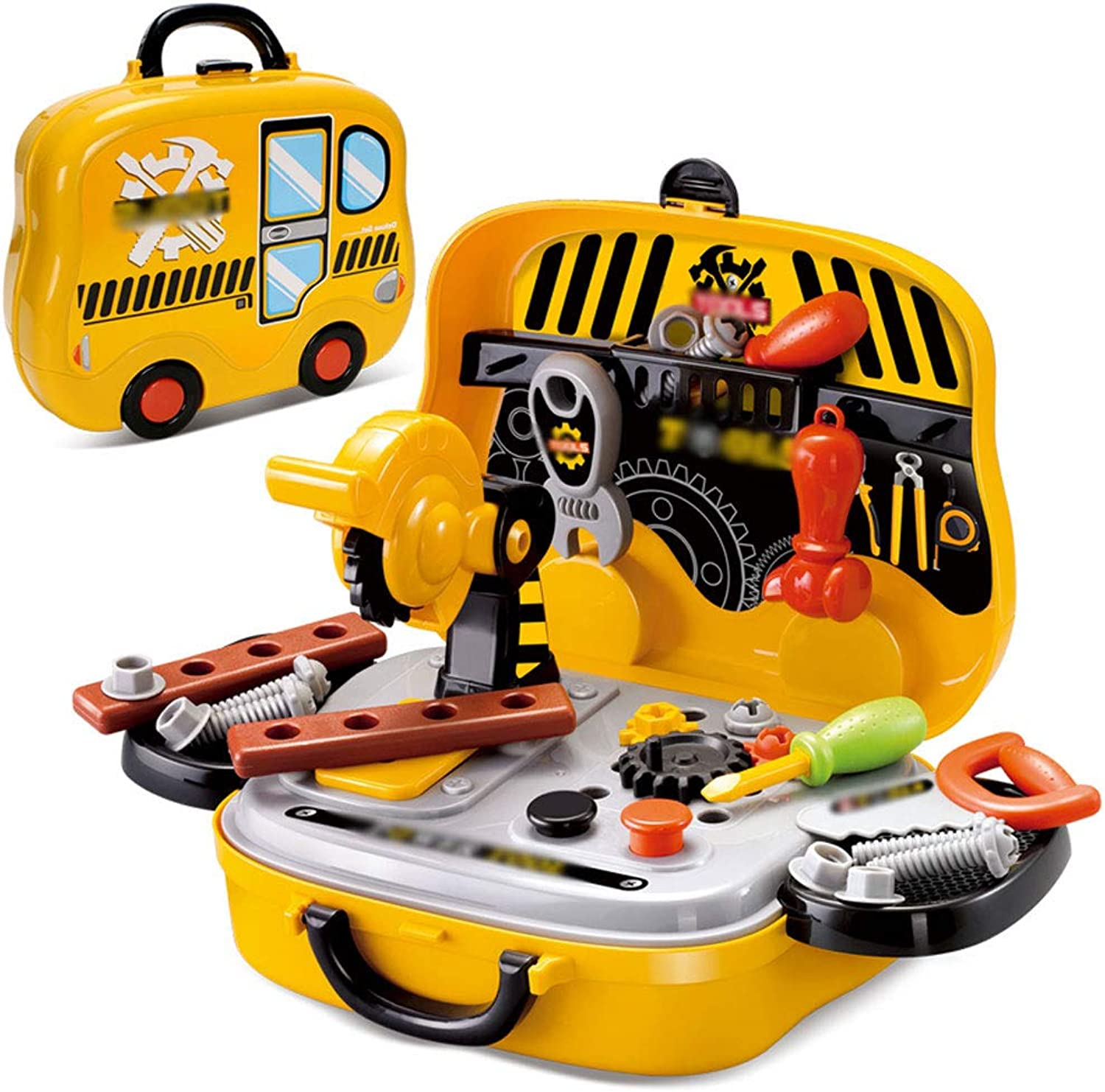 Hai Yan Boutique Toys Toys - Kids Toolbox Toy Set Repair Baby Repair Tool Desk Screwdriver - Boys Birthday Gift