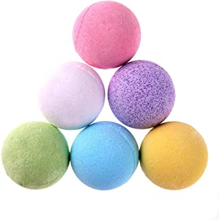 Occitop Natural Sooth Whiten Bubble Bath Salt Ball Essential Oil Spa Shower Ball