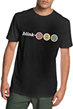 ANANBoyle Men's Blink-182 Cotton Clothes Short Sleeve T Shirt Cool Tee Tank
