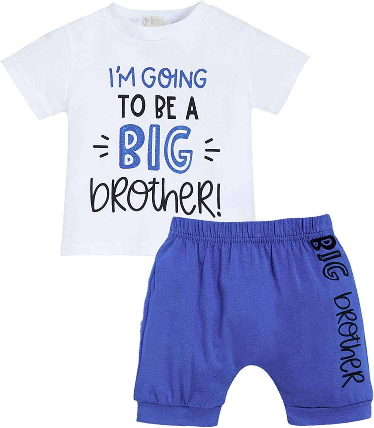 Baby Boy Summer Shipping included Product Clothes Toddler Kids Big Sleeve To Brother Short