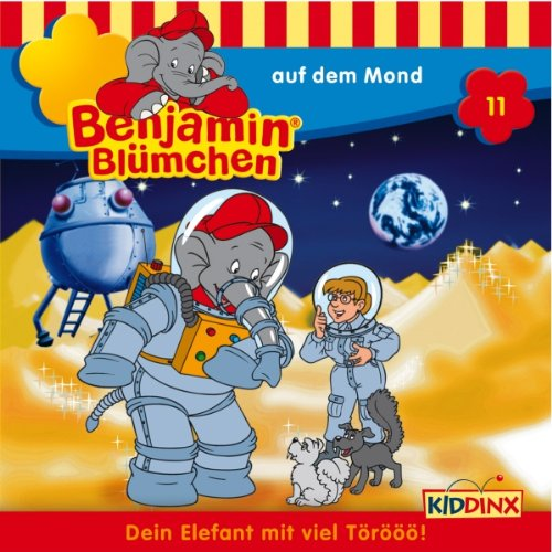 Benjamin auf dem Mond audiobook cover art