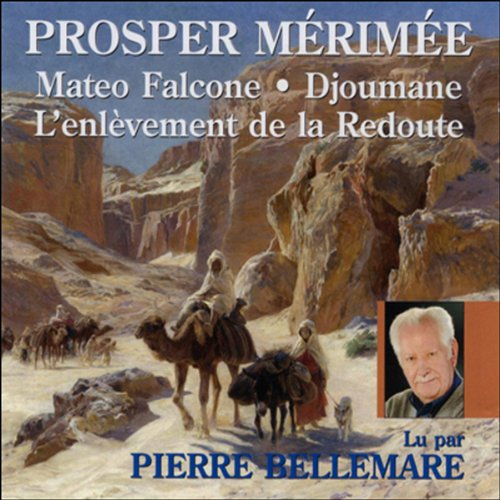 Mateo Falcone, Djoumane, L'enlèvement de la Redoute  audiobook cover art