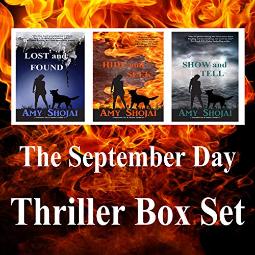The September Day Thriller Box Set audiobook cover art