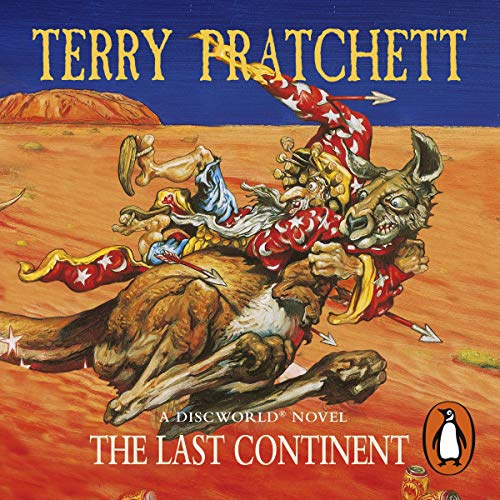 The Last Continent audiobook cover art