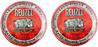 【2個セット】ルーゾー REUZEL ミディアムホールド レッド HIGH SHINE 113g
