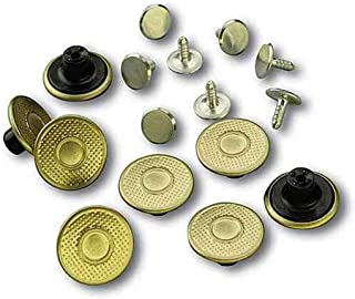 Men's A135 Extra Buttons - One Size Fits All - Brass