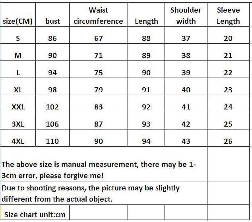 Dongjiguang Dress Dress Women's Plaid Round Neck Short Sleeve Workwear 2 Colors 7 Sizes (Color : B, Size : XXL)