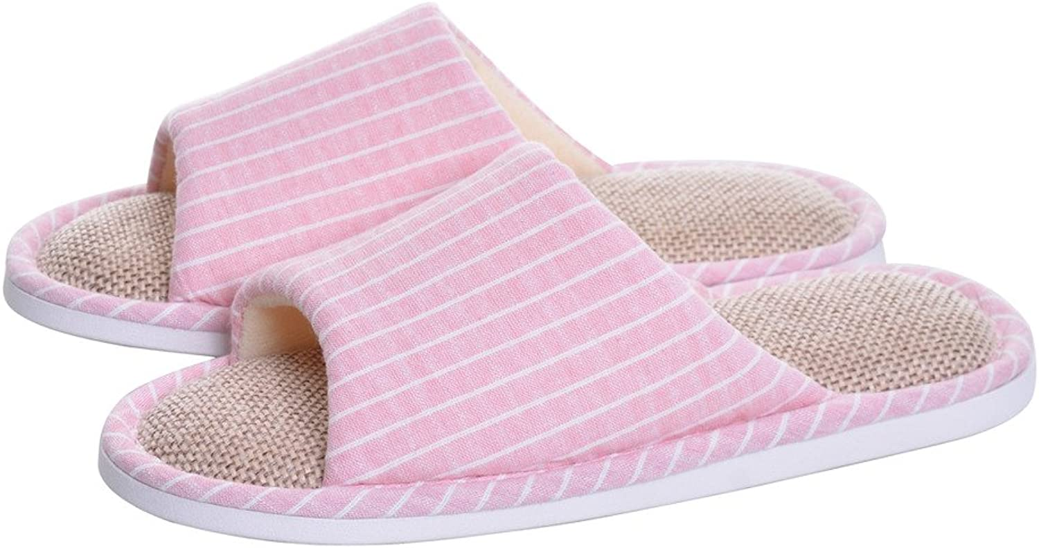 Memorygou Womens House Slippers, Cozy Memory Foam Casual Indoor Outdoor Open-Toe shoes