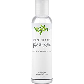 Intimate Lubricants for Sensitive Skin by Penchant Premium - Silicone Based, Discreet Label - Best Personal Lube for Women and Men – Lubrication Gel Without Parabens or Glycerin 4oz